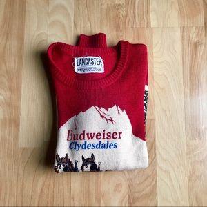 Vintage Budweiser sweater